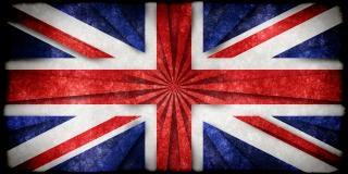 Uk grunge bandera