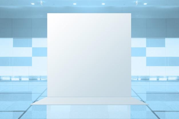 Unidad básica desplegable de tela pantalla publicitaria de medios publicitarios