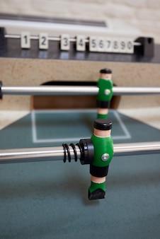 Unidad en una mesa de futbolín.