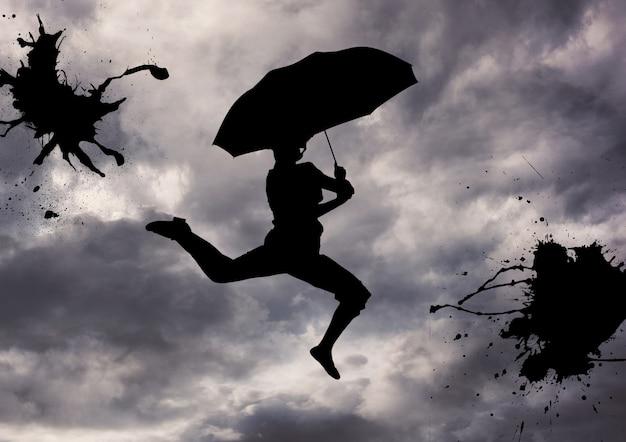 Universidad dibujo relajación hermoso salto