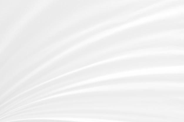 Uso abstracto suave de la tela blanca de la onda del foco para el fondo o el papel pintado.