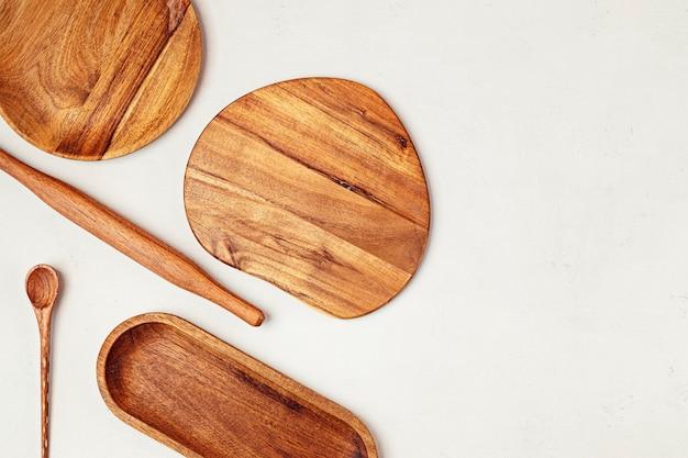Utensilios de cocina de madera herramientas para el hogar