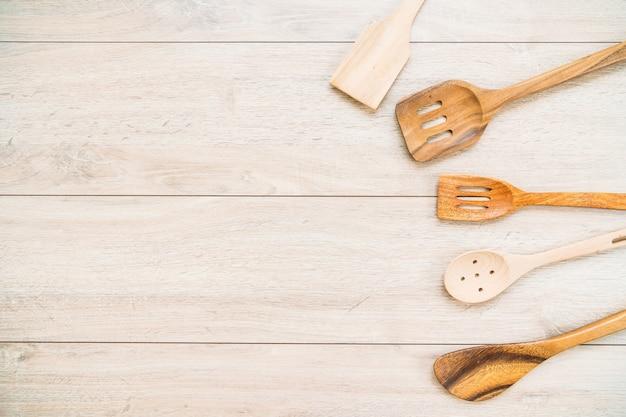 Utensilios de madera