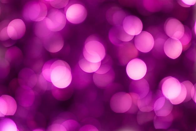 Vacaciones de purpurina brillante púrpura hermoso desenfoque de fondo bokeh