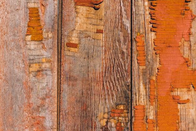 Valla de madera vieja