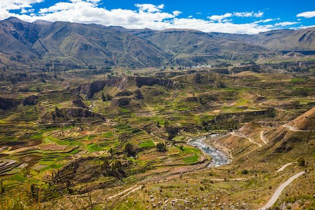 Valle del colca, perú