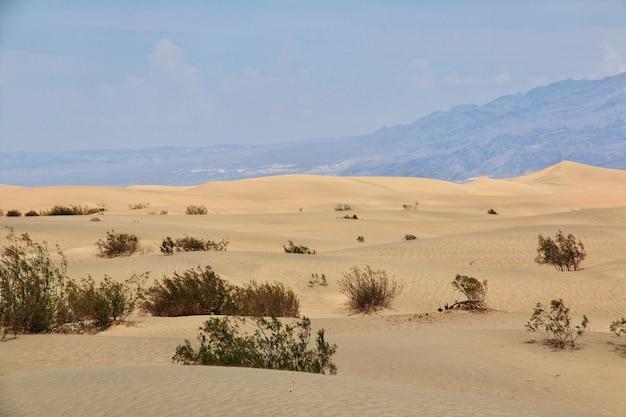 Valle de la muerte en california, estados unidos