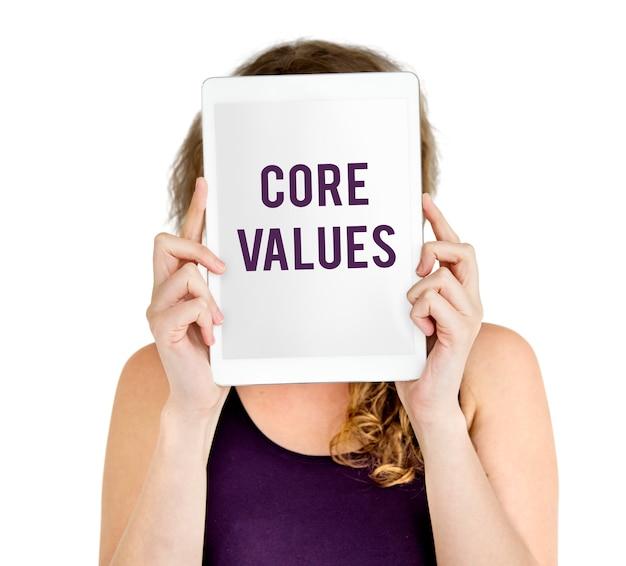 Valores fundamentales de la palabra jóvenes
