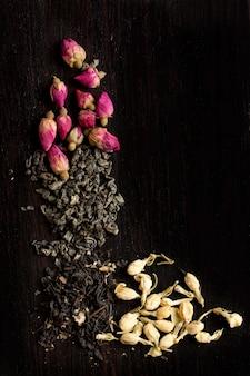 Variación de té seco