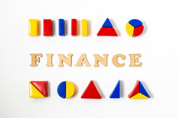 Variedad de diagramas para finanzas