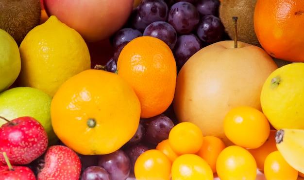 Una variedad de frutas