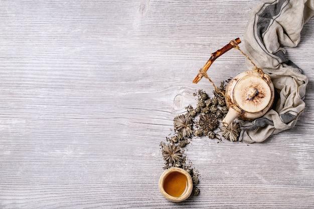 Variedad de té verde
