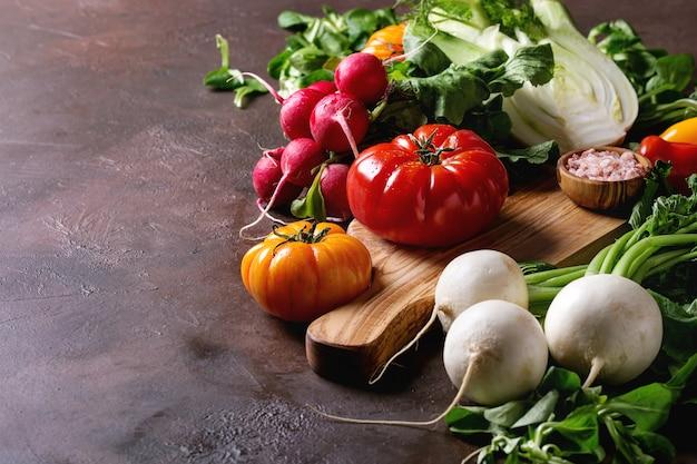 Variedad de vegetales