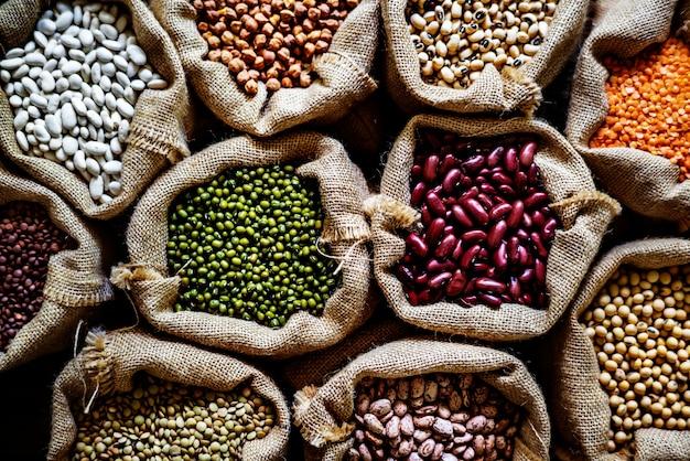 Varios de legumbres