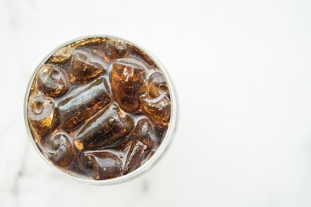 Vaso helado de cola