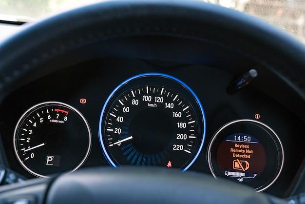 Velocímetro del coche