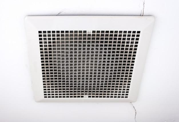 Ventilador de ventilación sucio