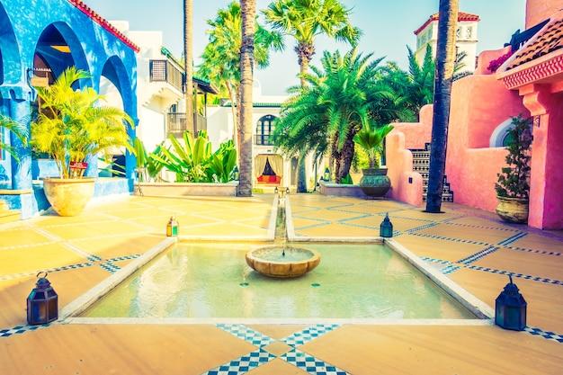 Verano marroquí salud nadie buceo