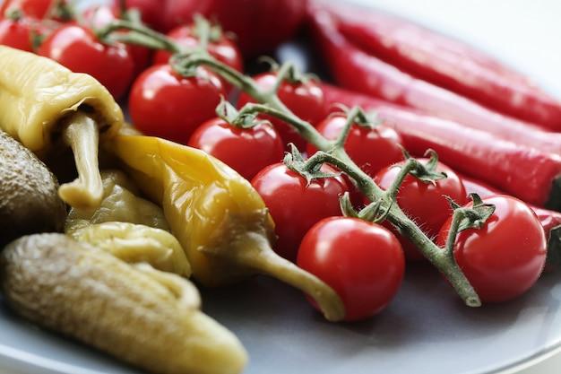 Verduras para barbacoa