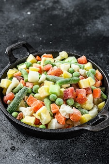 Verduras congeladas brócoli tomates cherry maíz guisantes zanahoria