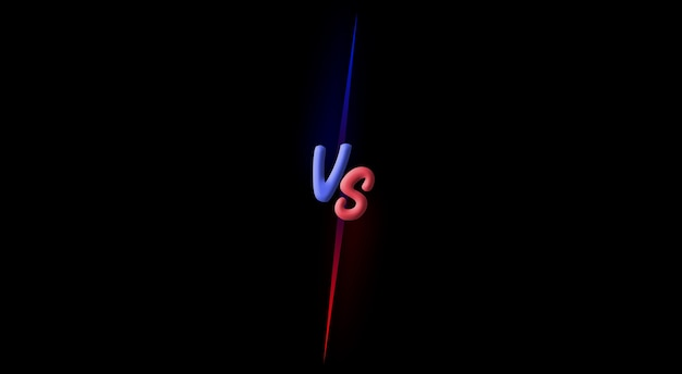 Versus vs fight battle fondo de pantalla 3d