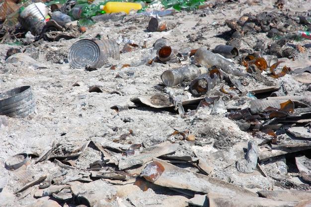 Vertedero de la ciudad: la demostración de problemas ambientales