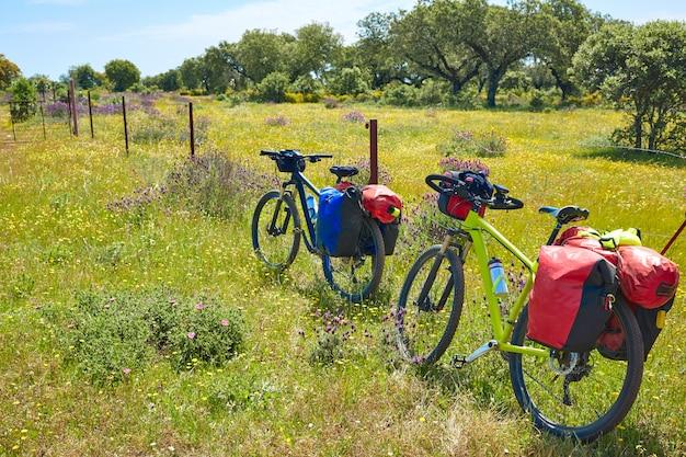 Vía de la plata camino a santiago en bicicleta españa.