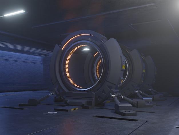 Viajando por la puerta del futuro con la velocidad de la luz.