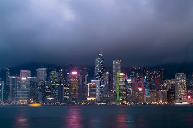 Victoria harbour en hong kong