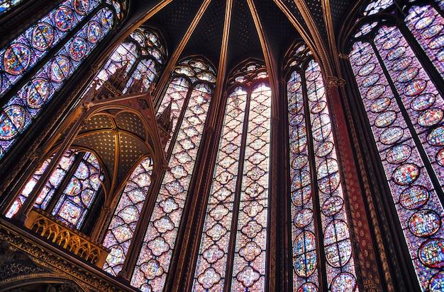 Vidrieras de sainte chapelle