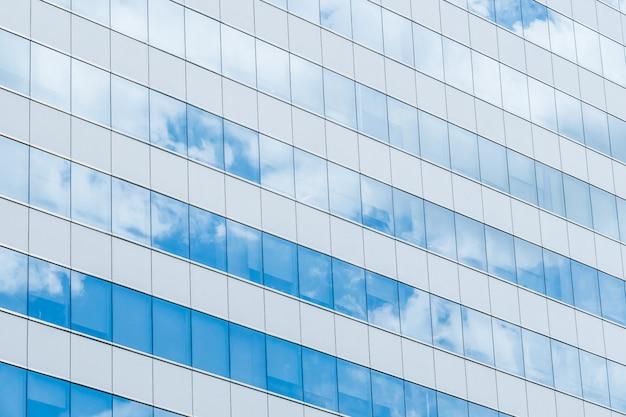 Vidrio de reflexión del edificio