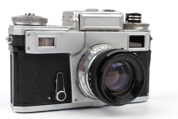 Vieja cámara de fotos