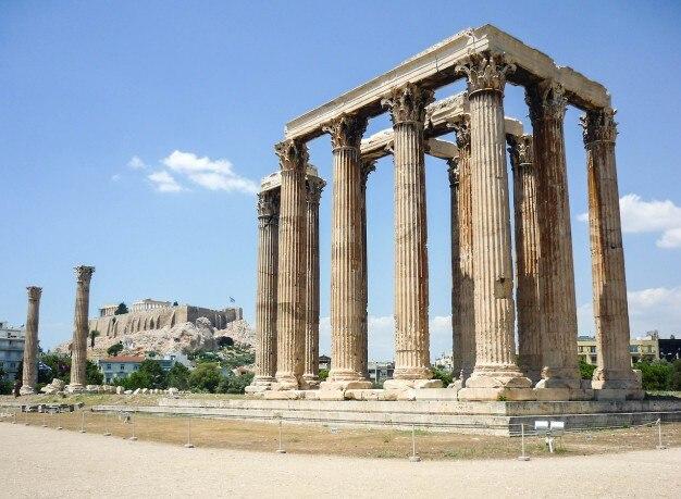 Vieja estructura de columnas