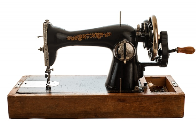 Vieja máquina de coser