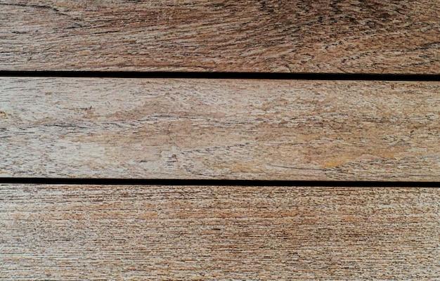 Vieja textura de fondo de madera rústica desgastada con tableros de madera marrón vintage