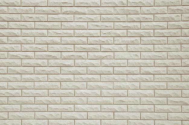 Vieja textura de fondo de pared de ladrillo blanco