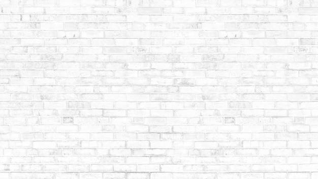 Vieja textura de grunge de pared de ladrillo blanco para el fondo del espacio de copia