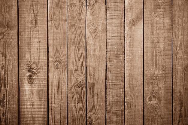 Vieja textura de pared de madera marrón
