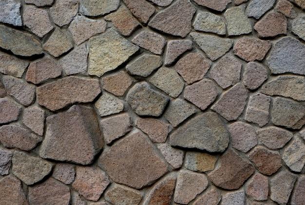 Vieja textura de patrón dinámico de roca, fondo de pared