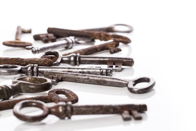 Viejas llaves adornadas