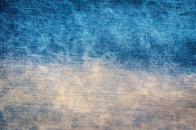 Viejas texturas de los pantalones vaqueros