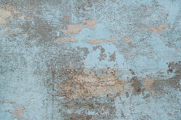 Viejo fondo de hormigón azul