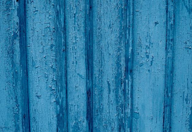 Viejo fondo rústico azul claro pintado de madera,
