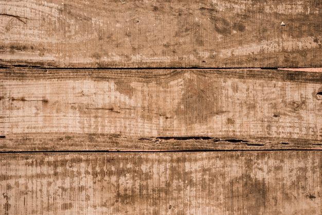 Un viejo fondo de tablón de madera