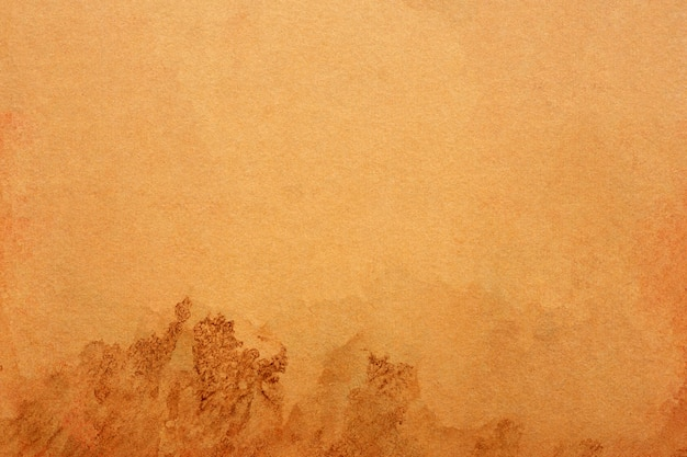 Viejo grunge de papel marrón para el fondo. textura de color café líquido abstracto.