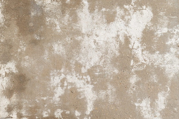 Viejo muro de hormigón agrietado