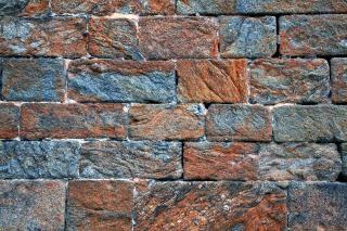 Viejo muro de ladrillo textura hdr
