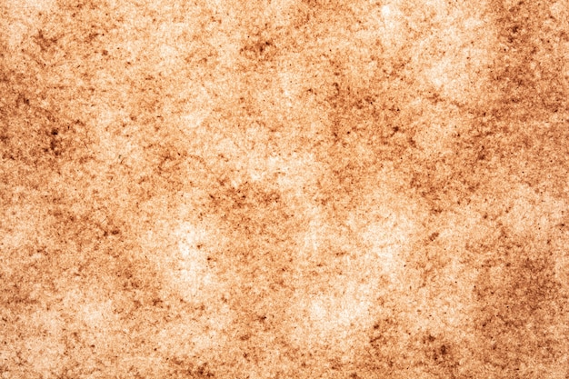 Viejo papel marrón, fondo, textura, manchas