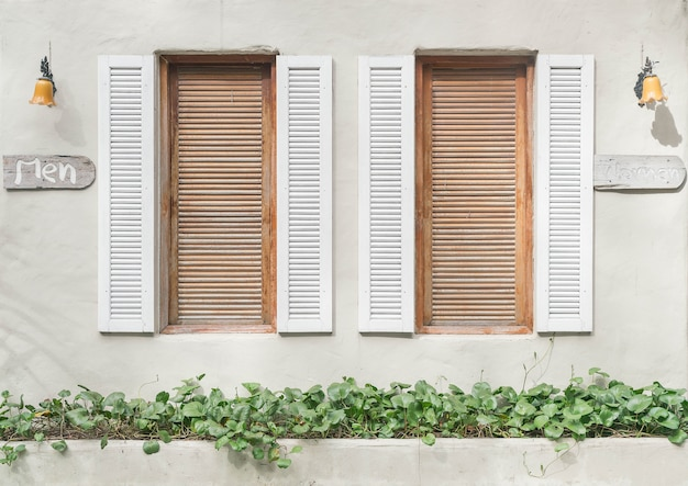 Viejo patrón de ventana