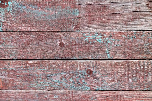 Viejos barriles de madera desgastada, tablones o valla con textura de fondo